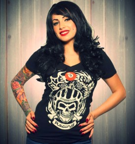 T-Shirt Skull Logo for Ladies