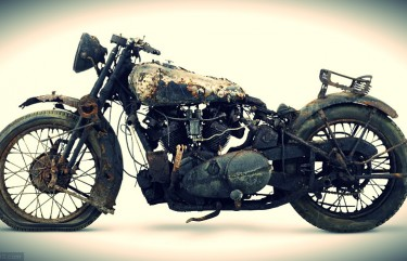 Barn Find of the Rolls Royce of Motorcycles - Brough Superior