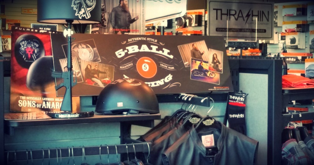 Bartels Harley-Davidson carry the 5-Ball Leathers