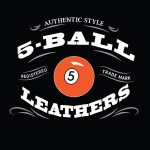 5-Ball Leathers VINTAGE-BLACK SPEEDWAY SHIRT