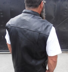 5-Ball Leathers Flat Out Vest