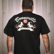 Bonneville T with trucker girls