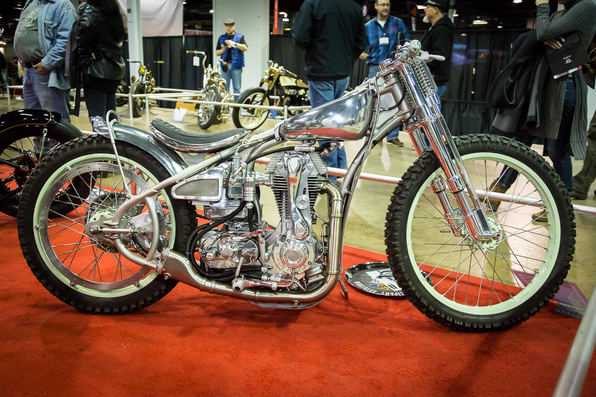 The winning 7 Motorcycle from Jeremy Cupp