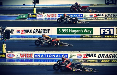 Previous messageNext messageFull view HARLEY-DAVIDSON V-ROD AND ANDREW HINES CHARGE TO VICTORY AT NHRA FOUR-WIDE NATIONALS IN CHARLOTTE