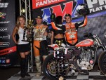 Jared Mees Wins Round 3 at the Austin Half Mile Dirt Track